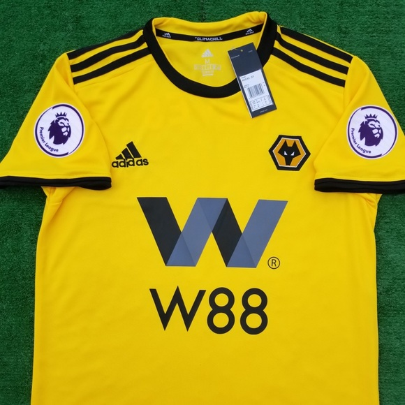 01ce987a9fc 2018 19 Wolverhampton Wanderers soccer jersey Raul